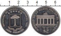Изображение Монеты Экваториальная Гвинея 1.000 франков 1991 Медно-никель UNC- Бранденбургские воро