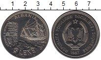 Изображение Монеты Албания 5 лек 1987 Медно-никель UNC- Корабль