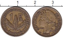Изображение Монеты Камерун 1 франк 1925 Латунь XF