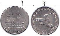 Изображение Монеты Куба 10 сентаво 1989 Медно-никель UNC-