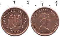 Изображение Монеты Фолклендские острова 1 пенни 1998 Бронза UNC-