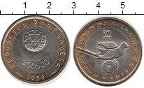 Изображение Монеты Португалия 200 эскудо 1999 Биметалл UNC-