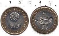 Изображение Монеты Португалия 200 эскудо 1999 Биметалл UNC- UNICEF