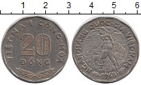 Изображение Монеты Вьетнам 20 донг 1968 Медно-никель XF