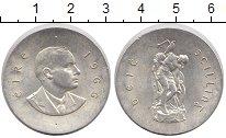Изображение Монеты Ирландия 10 шиллингов 1966 Серебро UNC- Пасхальное воскресен