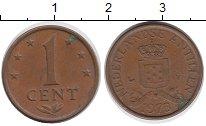 Изображение Дешевые монеты Антильские острова 1 цент 1973 Бронза VF