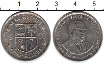 Изображение Дешевые монеты Маврикий 1 рупия 1997 Не указан VF