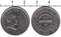 Изображение Дешевые монеты Филиппины 1 писо 2010 Сталь AUNC