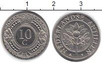 Изображение Дешевые монеты Антильские острова 10 центов 2008 Сталь XF