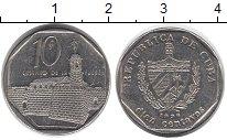 Изображение Дешевые монеты Куба 10 сентаво 1996 Сталь VF