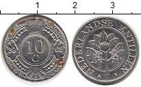 Изображение Дешевые монеты Антильские острова 10 центов 2003 Медно-никель XF