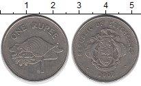 Изображение Дешевые монеты Сейшелы 1 рупия 2007 Не указан VF