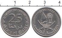 Изображение Дешевые монеты Катар 25 дирхам 2016 Не указан XF