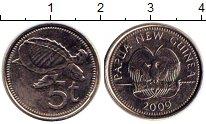 Изображение Дешевые монеты Великобритания Новая Гвинея 5 кин 2009 Не указан XF-