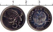 Изображение Дешевые монеты Новая Гвинея 5 кин 2009 Не указан UNC
