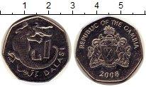 Изображение Дешевые монеты Гамбия 1 даласи 2008 Не указан XF