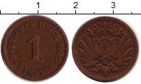 Изображение Дешевые монеты Германия 1 пфенниг 1908 Бронза VF
