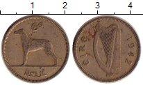 Изображение Дешевые монеты Ирландия 6 пенсов 1942 Медно-никель VF-