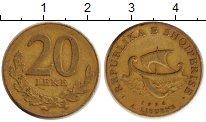 Изображение Дешевые монеты Албания 20 лек 1996 Бронза VF-