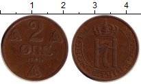 Изображение Дешевые монеты Норвегия 2 эре 1956 Бронза VF