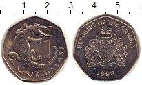 Изображение Дешевые монеты Гамбия 1 даласи 1998 Не указан XF-