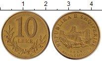 Изображение Дешевые монеты Албания 10 лек 2000 Бронза VF