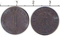 Изображение Дешевые монеты Третий Рейх 1 пфенниг 1941 Цинк VF А