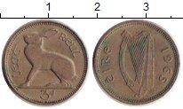 Изображение Дешевые монеты Ирландия 3 пенса 1965 Медно-никель XF-