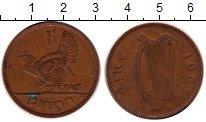Изображение Дешевые монеты Ирландия 1 пенни 1963 Бронза XF-