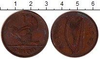 Изображение Дешевые монеты Ирландия 1 пенни 1943 Бронза VF
