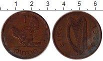Изображение Дешевые монеты Ирландия 1 пенни 1950 Бронза VF+