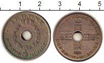 Изображение Дешевые монеты Норвегия 1 крона 1951 Медно-никель VF
