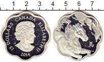 Изображение Монеты Канада 15 долларов 2014 Серебро Proof-