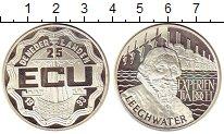 Изображение Монеты Нидерланды 25 экю 1993 Серебро Proof-