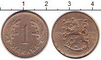 Изображение Монеты Финляндия 1 марка 1929 Медно-никель XF