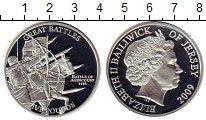 Изображение Монеты Остров Джерси 5 фунтов 2009 Серебро Proof