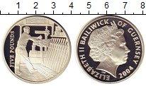 Изображение Монеты Великобритания Гернси 5 фунтов 2004 Серебро Proof