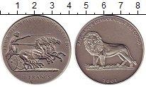 Изображение Монеты Конго 10 франков 2001 Серебро UNC- Олимпиада-2004 в Афи