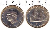 Изображение Монеты Швеция 200 крон 1990 Серебро UNC