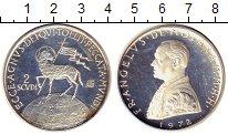 Изображение Монеты Мальтийский орден 2 скуди 1972 Серебро Proof-