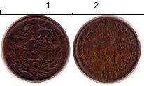 Изображение Монеты Нидерланды 1/2 цента 1936 Бронза XF