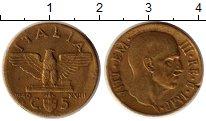 Изображение Монеты Италия 5 чентезимо 1940 Медь XF Витторио Эмануил III