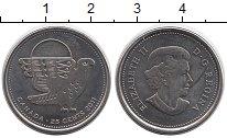 Изображение Монеты Канада 25 центов 2011 Медно-никель UNC-