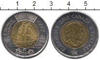 Изображение Монеты Канада 2 доллара 2012 Биметалл UNC-