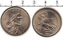 Изображение Монеты США 1 доллар 2017 Латунь UNC-