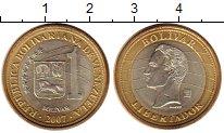 Изображение Монеты Венесуэла 1 боливар 2007 Биметалл UNC- Боливар