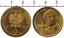 Изображение Монеты Польша 2 злотых 2002 Латунь UNC-