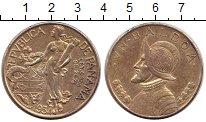 Изображение Монеты Панама 1 бальбоа 1934 Серебро XF Васко де Бальбоа