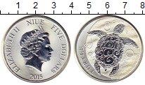 Изображение Монеты Новая Зеландия Ниуэ 5 долларов 2015 Серебро UNC-