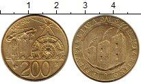 Изображение Монеты Сан-Марино 200 лир 1992 Латунь XF 500 лет открытия Аме